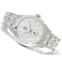 S. COIFMAN MEN'S SWISS QUARTZ STAINLESS BRACELET WATCH