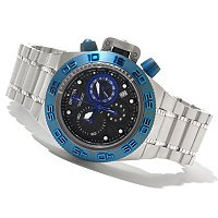 INVICTA MID SUBAQUA SPORT QUARTZ CHRONOGRAPH STAINLESS BRACELET WATCH