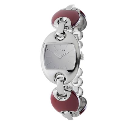 618-292 - Gucci Women's Marina Swiss Made Quartz Ceramic & Stainless Steel Bracelet Watch
