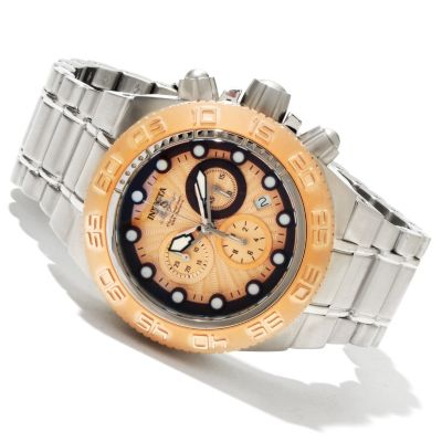 618-346 - Invicta Mid-Size Subaqua Sport Quartz Chronograph Stainless Steel Bracelet Watch