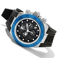 INVICTA MID SUBAQUA SPORT QUARTZ CHRONOGRAPH STRAP WATCH