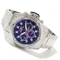 INVICTA MEN'S SPORT QUARTZ CHRONOGRAPH STAINLESS BRACELET WATCH
