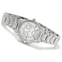 INVICTA WOMEN'S CLASSIQUE WILDFLOWER DIAMOND BRACELET WATCH
