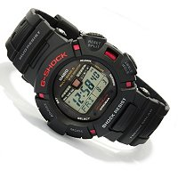 CASIO G SHOCK MUDMAN DIGITAL RUBBER STRAP WATCH