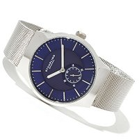 Stuhrling Original Men's Abion Quartz Mesh Bracelet Watch