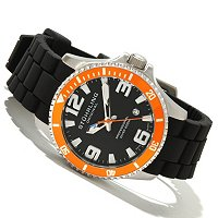 Stuhrling Original Men's Regatta Champion Sport Quartz Rubber Strap Watch