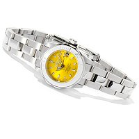 INVICTA WOMEN'S MINI PRO DIVER QUARTZ MOVEMENT STAINLESS BRACELET WATCH