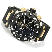 INVICTA MEN'S SUBAQUA NITRO QUARTZ CHRONO STAINLESS BRACELET WATCH W/ 8DC