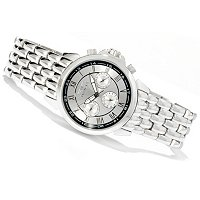 INVICTA MEN'S SPECIALTY QUARTZ MULTIFUNCTION STAINLESS STEEL BRACELET WATCH