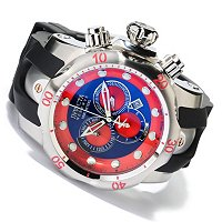 INVICTA RESERVE MEN'S VENOM SWISS MADE QUARTZ CHRONO POLY STRAP WATCH