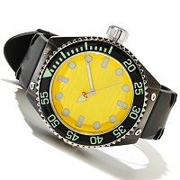Android Men's Divemaster Espionage 2 Automatic Rubber Strap Watch