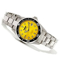 INVICTA MEN'S PRO DIVER QUARTZ MOVEMENT STAINLESS BRACELET WATCH