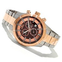 INVICTA MEN'S OCEAN ENDEAVOR QUARTZ CHRONO STAINLESS BRACELET WATCH