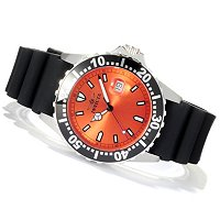 INVICTA MEN'S PRO DIVER QUARTZ STAINLESS CASE STRAP WATCH W/ 3 SLOT DC