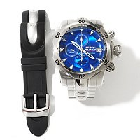 INVICTA RESERVE MEN'S VENOM SWISS A07 AUTOMATIC INTERCHANG SET W/ DIVE CASE
