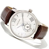 Louis Erard Men's 1931 Swiss-Mechanical Calfskin Strap Watch