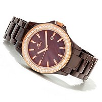 Oniss Women's Ladies Jolee Collection Ceramic Bracelet Watch