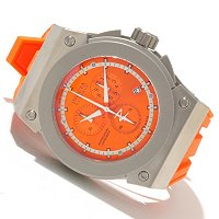 INVICTA RESERVE MEN'S AKULA SWISS QUARTZ CHRONO POLYURETHANE STRAP WATCH W/ DC