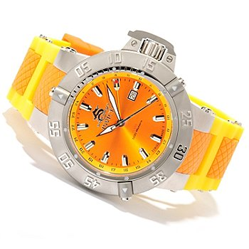 618-666 - Invicta Men's Subaqua Noma III ''Puppy Edition'' Swiss Made Quartz GMT Silicone Strap Watch