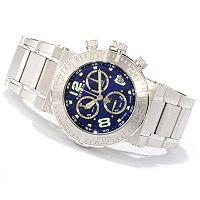 INVICTA RESERVE MEN'S OCEAN REEF SWISS CHRONO BRACELET WATCH W/ 3 DIVE CASE