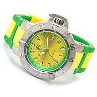 "INVICTA MEN'S SUBAQUA NOMA III ""PUPPY ED"" SWISS QUARTZ GMT SILICONE STRAP WATCH"