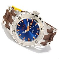 "INVICTA RESERVE MENS SPECIATLY SUBAQUA ""PUPPY ED"" SWISS QUARTZ GMT STRAP WATCH"