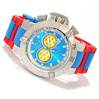 "INVICTA MEN'S SUBAQUA NOMA III ""PUPPY ED"" SWISS QUARTZ CHRONO STRAP WATCH"