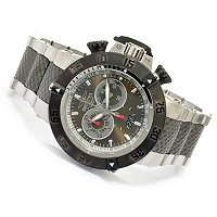 INVICTA MEN'S SUBAQUA NOMA III SWISS QUARTZ CHRONO STAINLESS BRACLET WATCH
