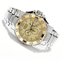 INVICTA RESERVE MEN'S EXCURSION SWISS QUARTZ CHRONO STAINLESS BRACELET WATCH