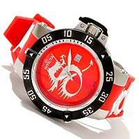 INVICTA MEN'S SUBAQUA NOMA III SWISS QUARTZ MOVEMENT SILICONE STRAP WATCH