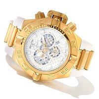 INVICTA MEN'S SUBAQUA NOMA IV SWISS QUARTZ CHRONO RUBBER STRAP WATCH