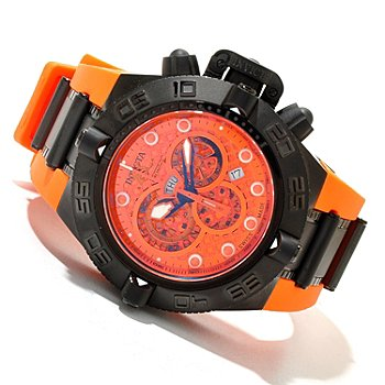 618-813 - Invicta Men's Subaqua Noma IV Swiss Quartz Chronograph Rubber Strap Watch