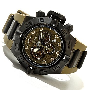 618-814 - Invicta Men's Subaqua Noma IV Swiss Made Quartz Chronograph Polyurethane Strap Watch