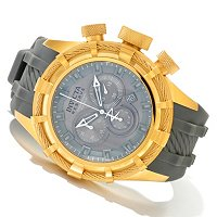 INVICTA RESERVE MEN'S BOLT SPORT SWISS QUARTZ CHRONO SILICONE STRAP WATCH