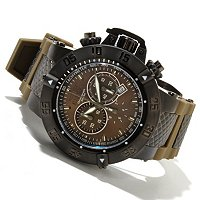 INVICTA MEN'S SUBAQUA NOMA III SWISS QUARTZ CHRONO SLIICONE STRAP WATCH