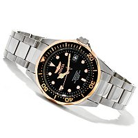 INVICTA WOMEN'S PRO DIVER QUARTZ STAINLESS BRACELET WATCH