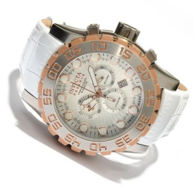 618-825 - Invicta Reserve Men's Leviathan Evolution Swiss Made Quartz Chronograph Stainless Steel Watch