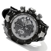INVICTA RESERVE MEN'S VENOM GEN. II SWISS ETA A07 TITANIUM CASE STRAP WATCH
