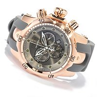 INVICTA RESERVE MEN'S BOLT SWISS QUARTZ CHRONO STAINLESS BRACELET WATCH