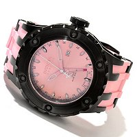 INVICTA RESERVE MEN'S SPECIALTY SUBAQUA SWISS QUARTZ GMT RUBBER STRAP WATCH