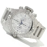 INVICTA MENS SUBAQUA NOMA IV SWISS AUTOMATIC CHRONO METEORITE BRACELET WATCH