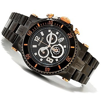 618-847 - Renato Men's T-Rex Diver Limited Edition Swiss Quartz Chronograph Watch