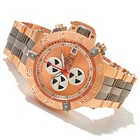 TTV INVICTA MENS SUBAQUA NOMA III SWISS A07 AUTOMATIC CHRONO BRACELET WATCH