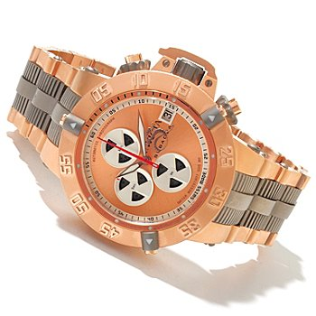 618-848 - Invicta Men's Subaqua Noma III Swiss A07 Valgranges Chronograph Bracelet Watch w/ 8-Slot Dive Case