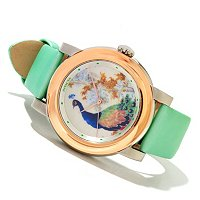INVICTA WOMENS SPECIALTY CHINESE DYNASTY VASE SWISS QUARTZ STRAP WATCH