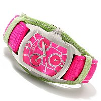 INVICTA WOMEN'S LUPAH COUTURE QUARTZ CHRONO LEGARTO STRAP WATCH