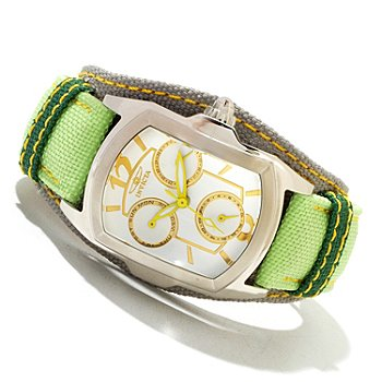 618-872 - Invicta Women's Lupah Couture Quartz Stainless Steel Case Legarto Strap Watch