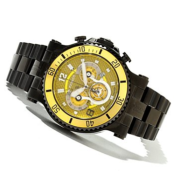 618-890 - Renato Men's T-Rex Diver Limited Edition Swiss Quartz Chronograph Bracelet Watch