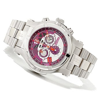 618-894 - Renato Men's T-Rex Swiss Quartz Chronograph Stainless Steel Bracelet Watch