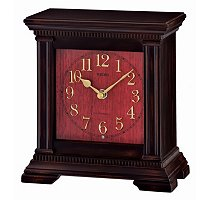 SEIKO ANTIQUE STYLE MUSICAL WOODEN MANTEL CLOCK